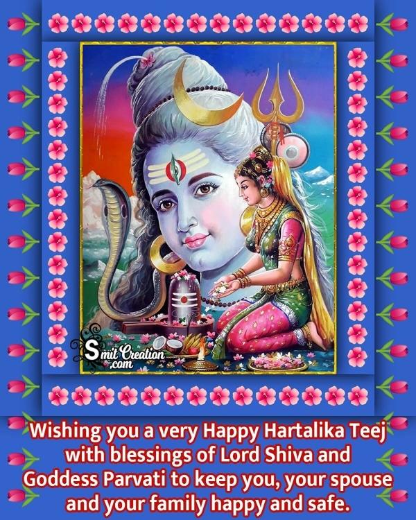Happy Hartalika Teej Blessings Photo