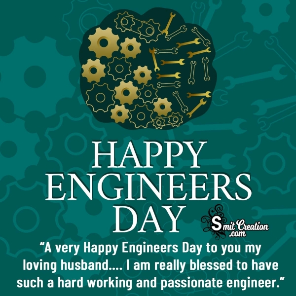 Happy Engineers Day Wishes Messages for Husband