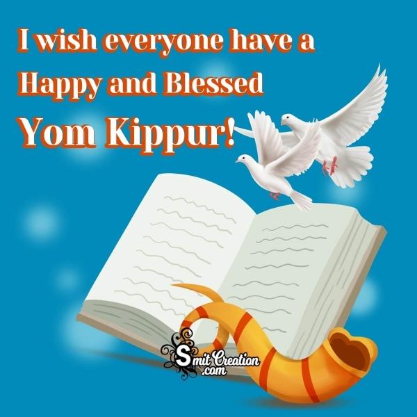Yom Kippur Messages