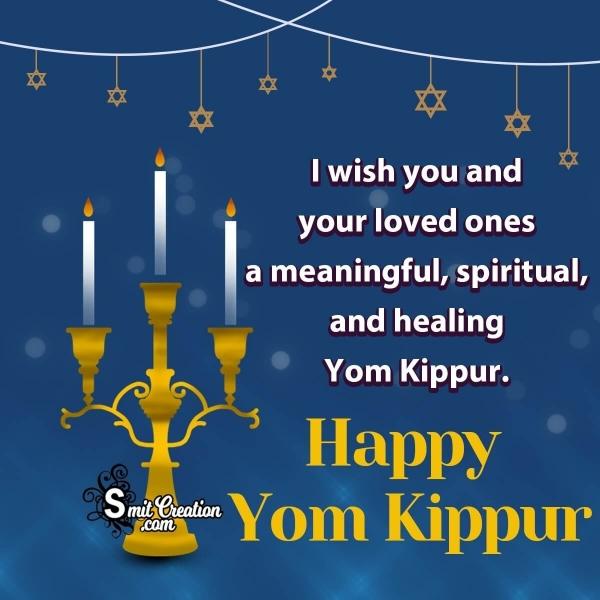 Yom Kippur Greetings For Friends & Family