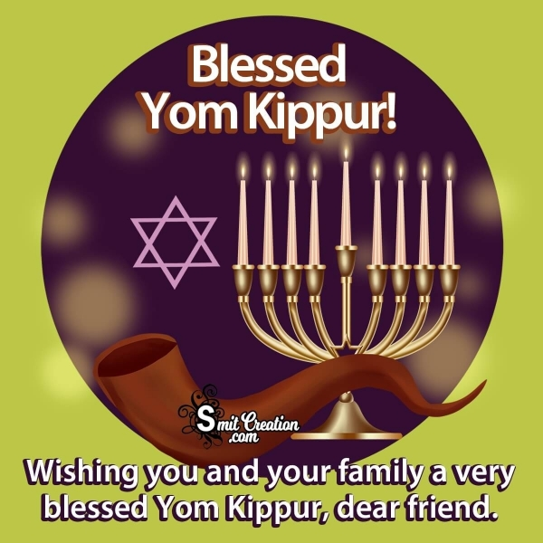 Yom Kippur Wishes for Friends