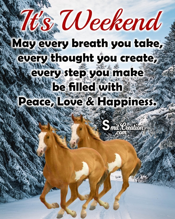 It's Weekend Quote