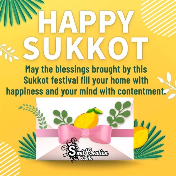 Sukkot Wishes for a Jewish Colleague or Boss