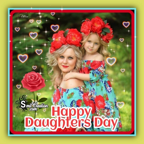Happy Daughters Day Whatsapp Picture