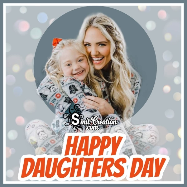 Happy Daughters Day Whatsapp Image