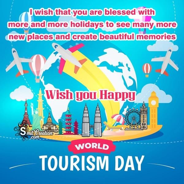 Happy World Tourism Day Best Wishes