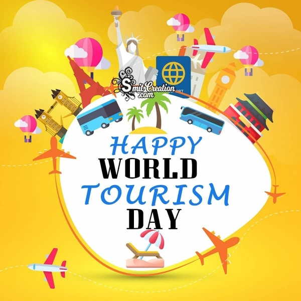 Happy World Tourism Day Greeting
