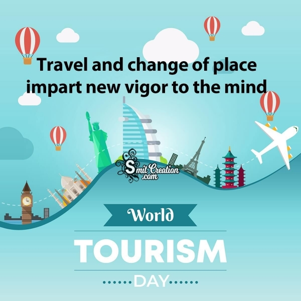 World Tourism Day Facebook and Whatsapp Status