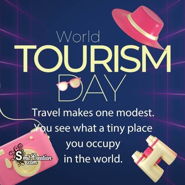 Happy World Tourism Day Quote