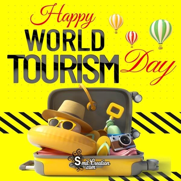 Happy World Tourism Day Photo