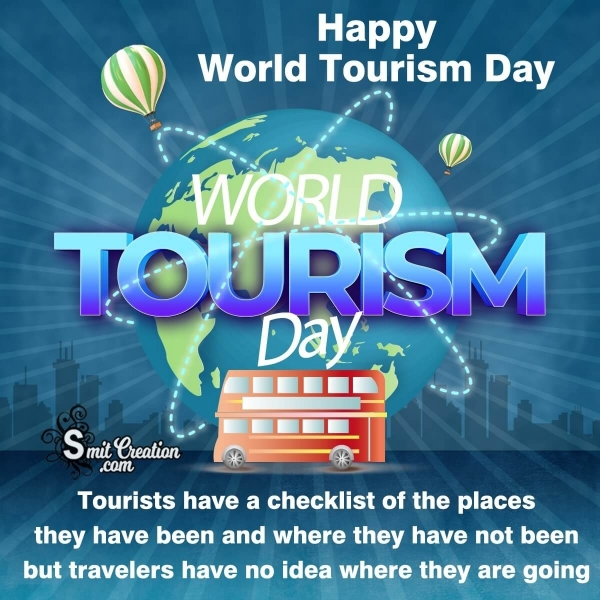 Happy World Tourism Day Best Messages