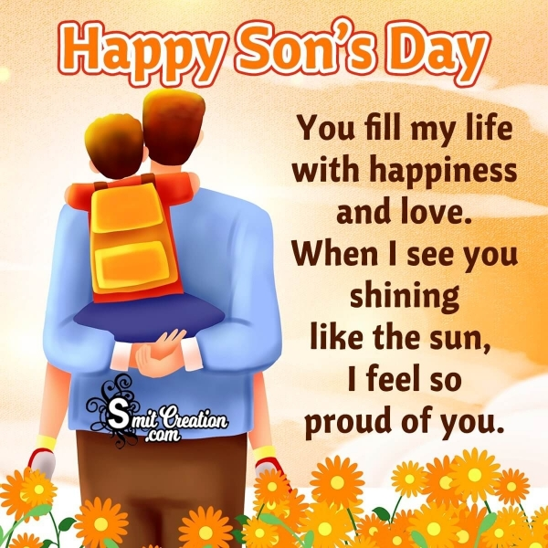 Happy Son's Day Messages From Dad