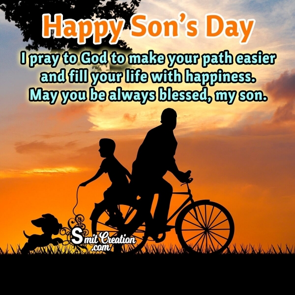 Happy Son's Day Message From Father