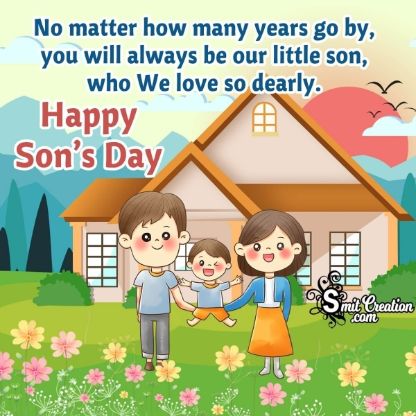 Happy Son's Day Messages From Parents