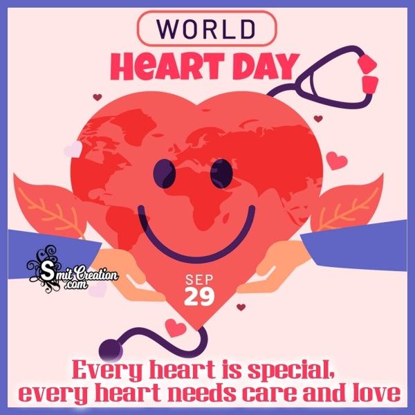 Happy World Heart Day WhatsApp & Facebook Status