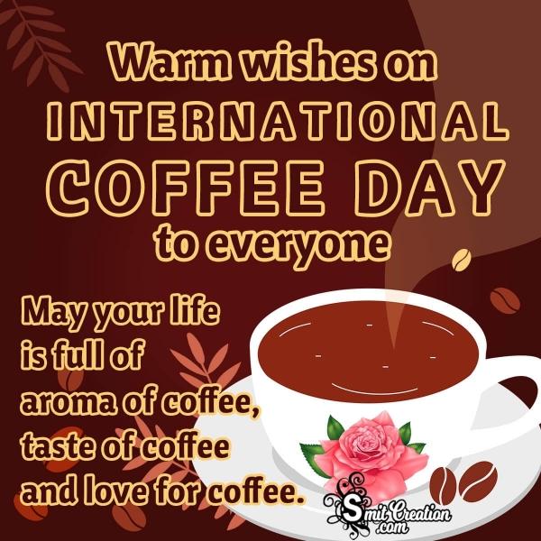 International Coffee Day WhatsApp & Facebook Status Messages