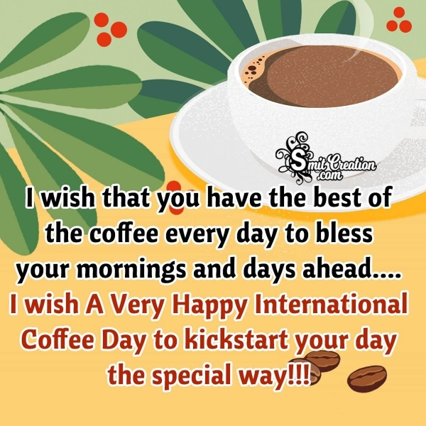 International Coffee Day Messages