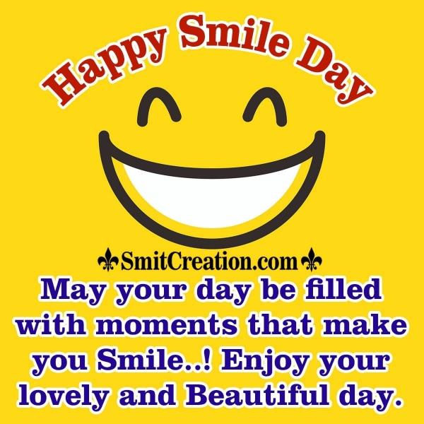 Happy Smile Day Wish Image