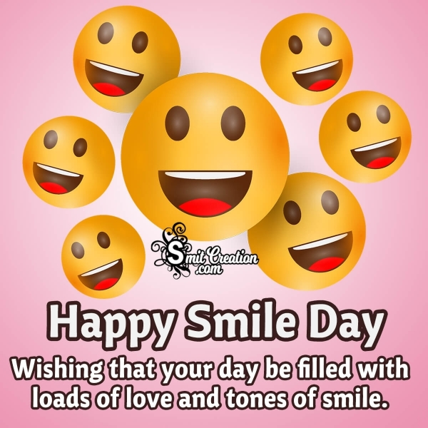 Smile Day Wishes