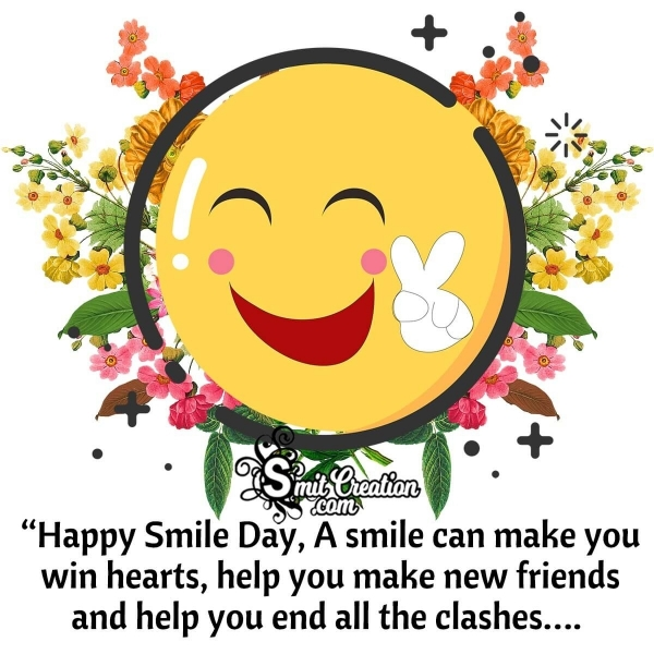Happy Smile Day Messages