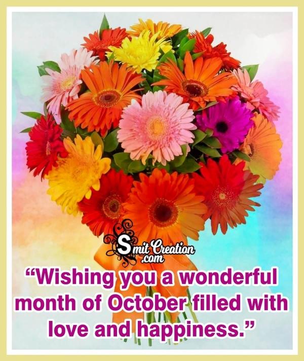 Wishing Wonderful October Month