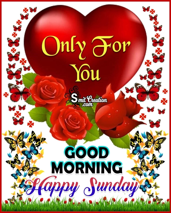 Happy Sunday Only For You