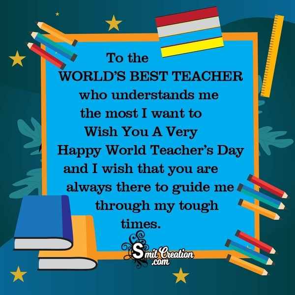 World Teachers Day Messages for Students