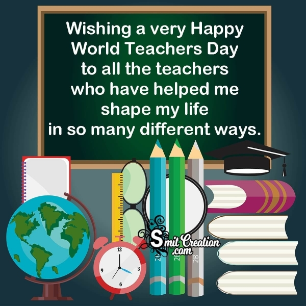Happy World Teachers Day Messages