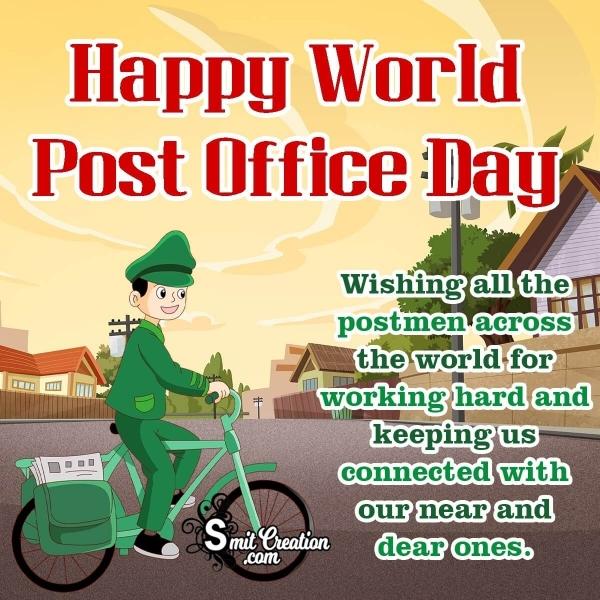 Happy World Post Office Day Wish Image