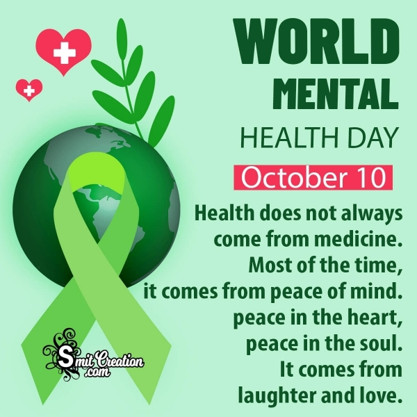 Inspiring World Mental Health Day Quotes