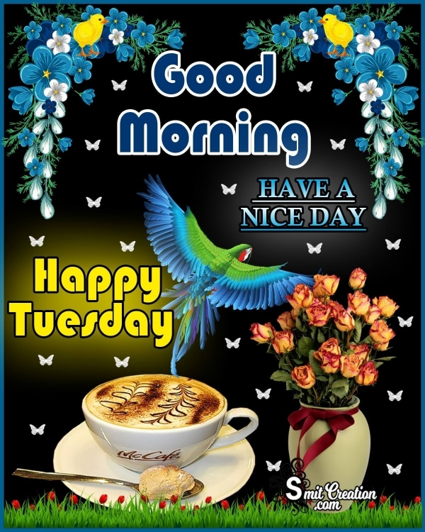 Good Morning Happy Tuesday Picture
