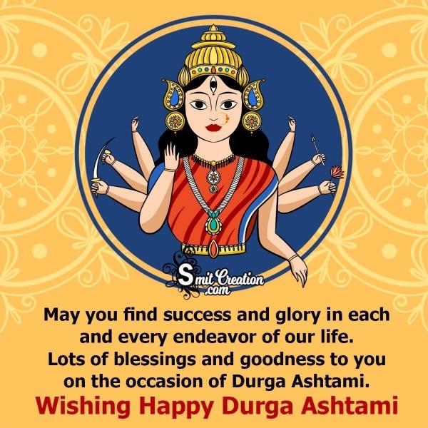 Happy Durga Ashtami Messages