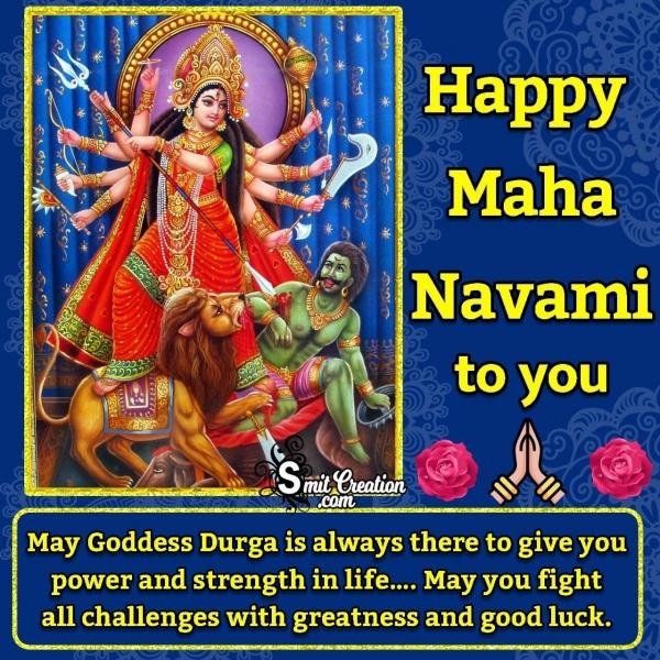 Happy Maha Navami Messages