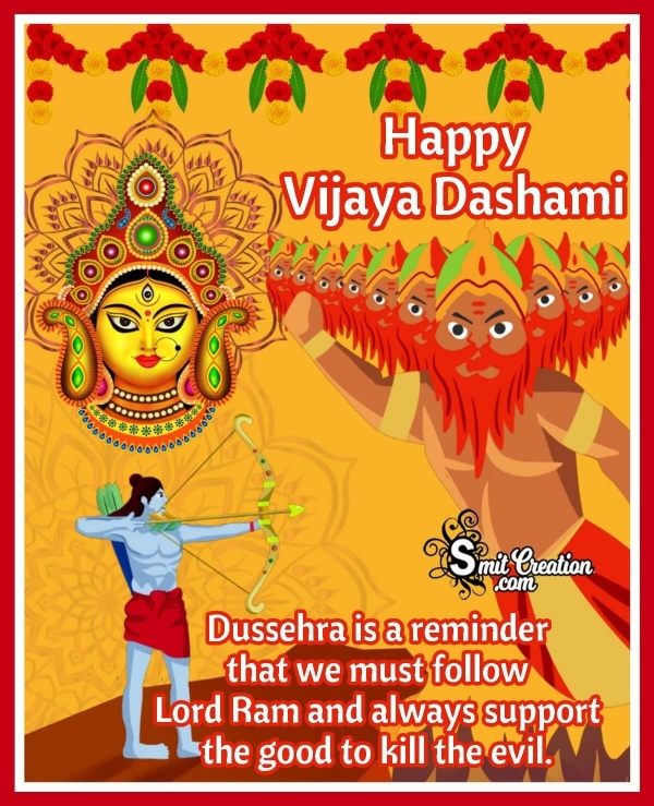 Happy Vijaya Dashami Photo