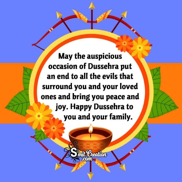 Happy Dussehra Messages for Whatsapp