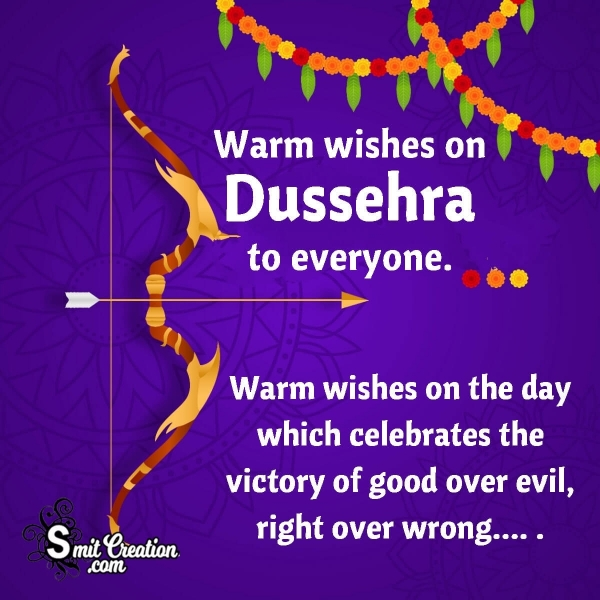 Dussehra Status Messages for WhatsApp