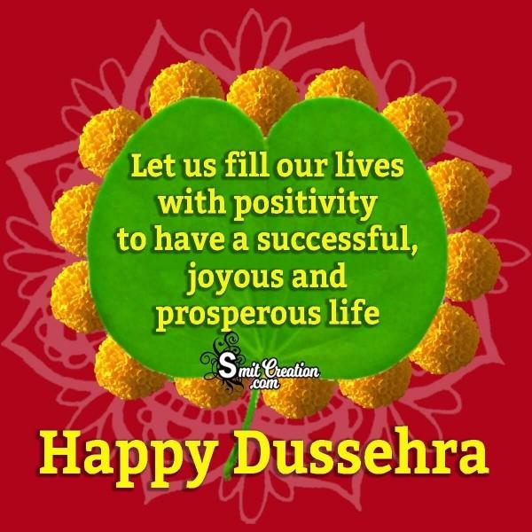 Happy Dussehra Status