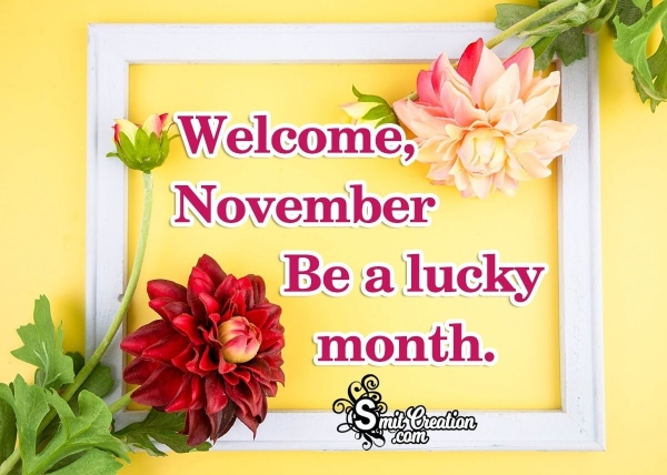 November Month Wishes, Quotes Images