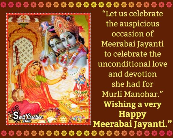 Happy Meerabai Jayanti Status