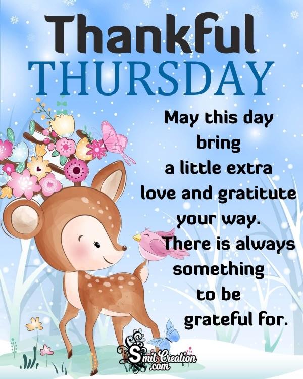 Thankful Thursday Wish Image