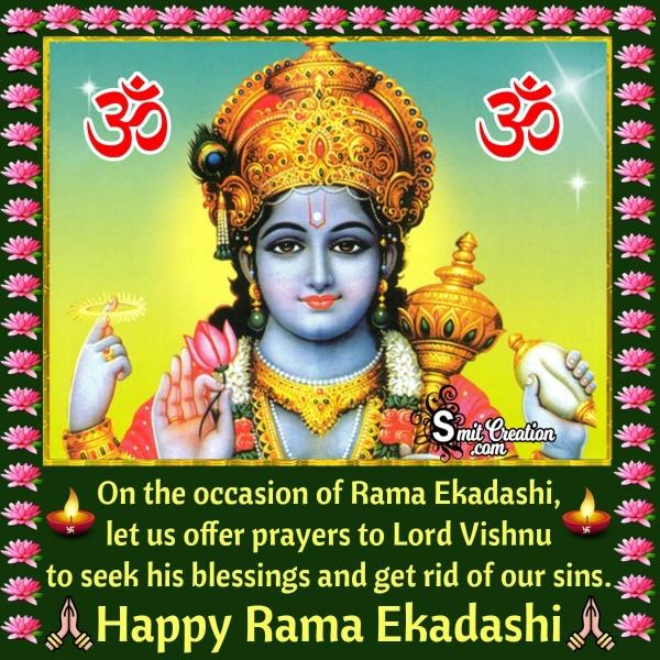 Happy Rama Ekadashi Wishes