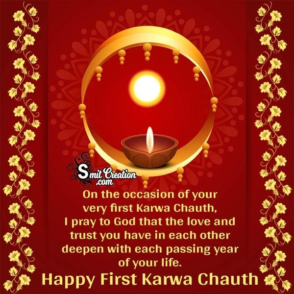 Happy First Karwa Chauth Wishes
