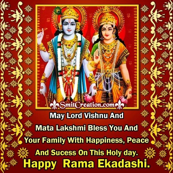 Happy Rama Ekadashi Blessing