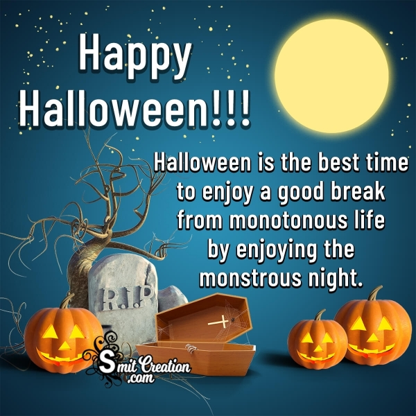 Happy Halloween Business Card Messages for Clients