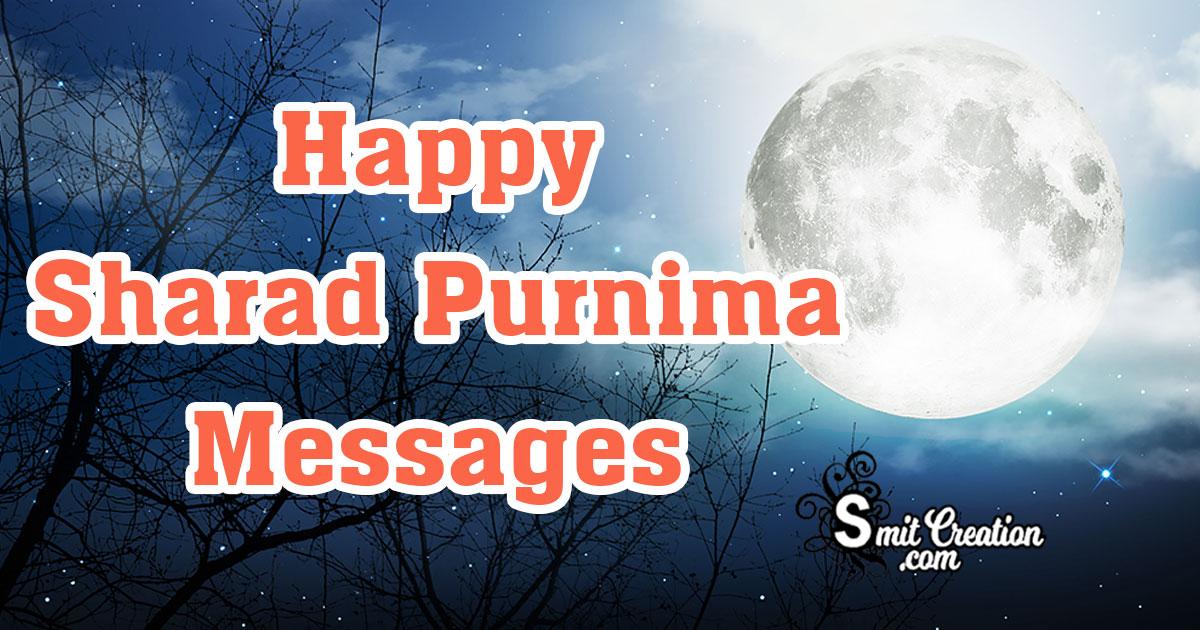 Happy Sharad Purnima Messages