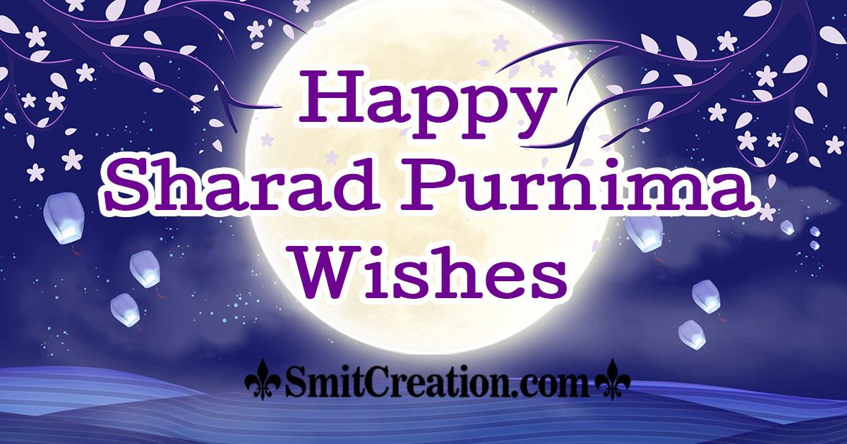 Happy Sharad Purnima Wishes