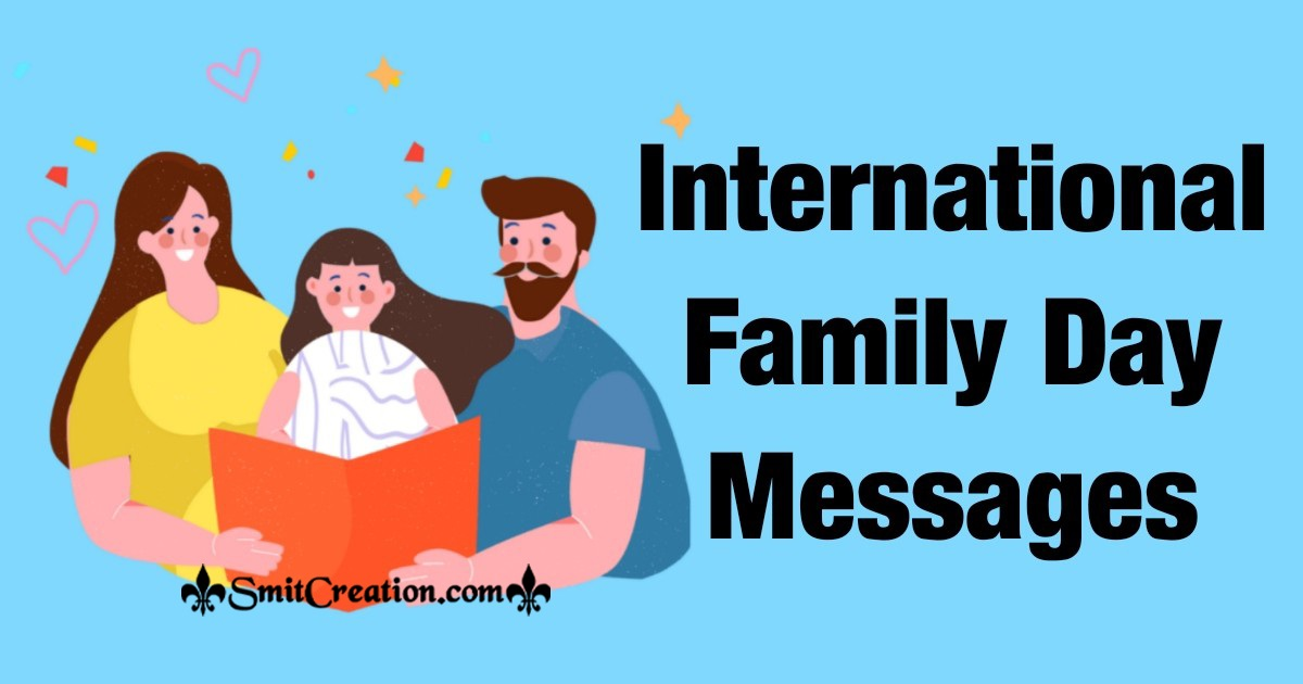 International Family Day Messages