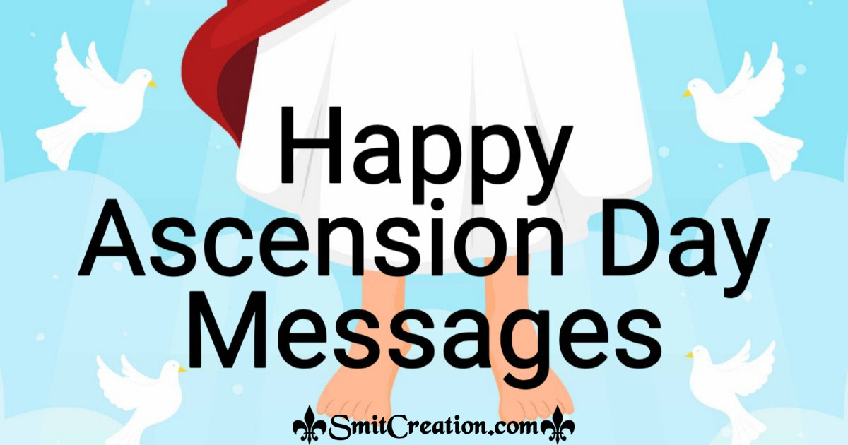 Happy Ascension Day Messages