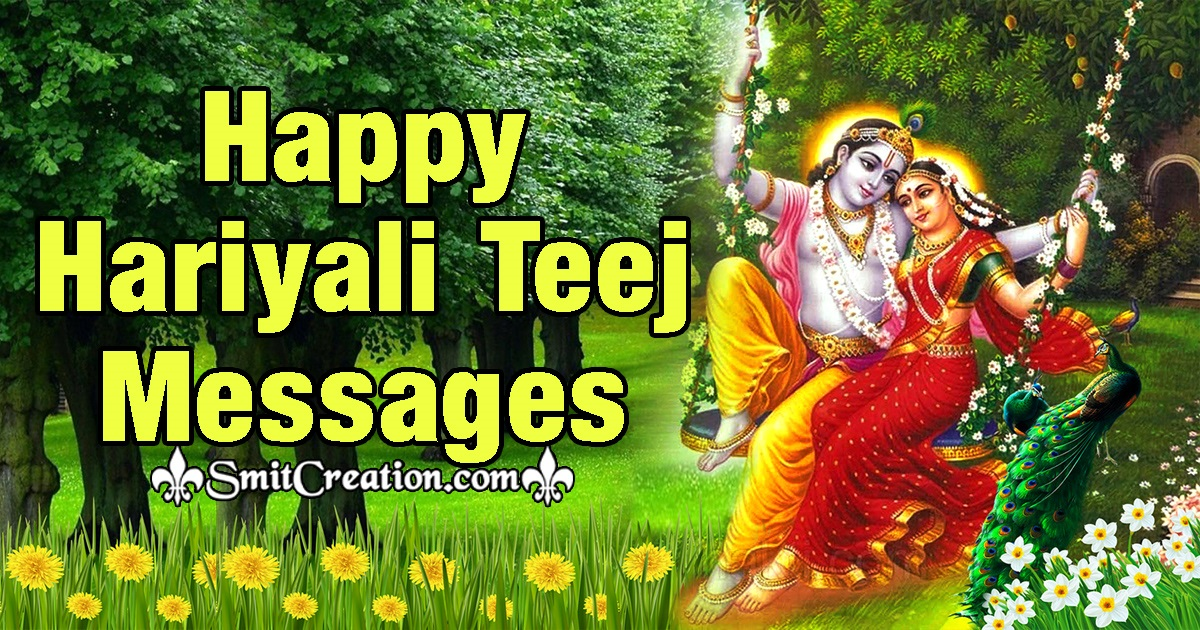 Happy Hariyali Teej Messages