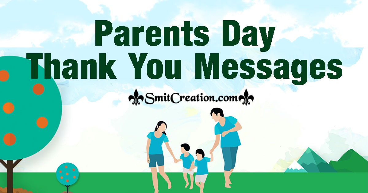 Parents Day Thank You Messages